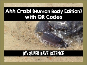 Ahh Crab! QR Code Review Card Game Human Body Edition