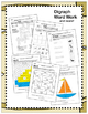 Ahoy! Digraphs! {Ch-, Sh-, Th-, Wh-} Word Work Bundle! (Co