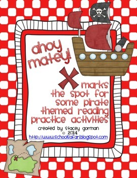 Ahoy Matey! X Marks the Spot for Some Pirate Themed Readin