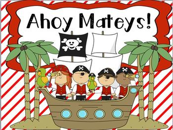 Ahoy Matey! ( pirate themed math and literacy centers)