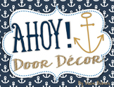 Door Decor: Nautical, Ahoy!