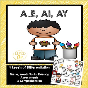 Ai, Ay, A_E Game and Word Sort