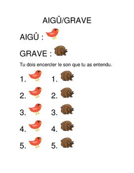 Aigu/Grave