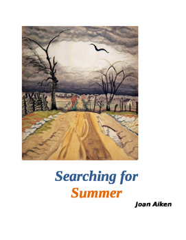"""Aiken ~ """"Searching for Summer""""  MASTER PACKET (8 pages) CO"""
