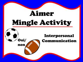 Aimer Mingle Activity