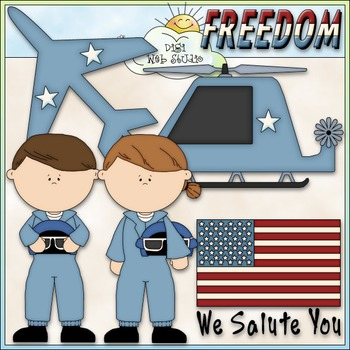 Air Force Clip Art - Military Clip Art - Armed Forces Clip