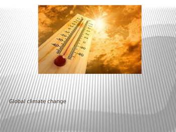 Global Climate Change PPT