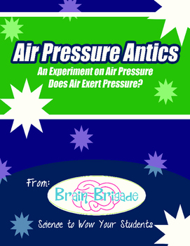 Air Pressure III | Fun Maker Project or Classroom Activity {STEM}