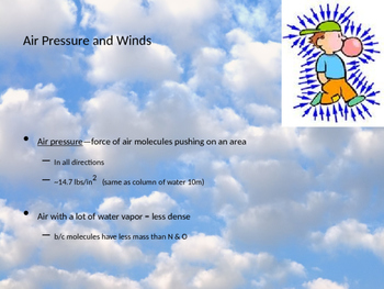 Air Pressure/Winds/Weather Patterns