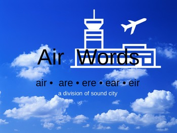 Air Words (Sound City)