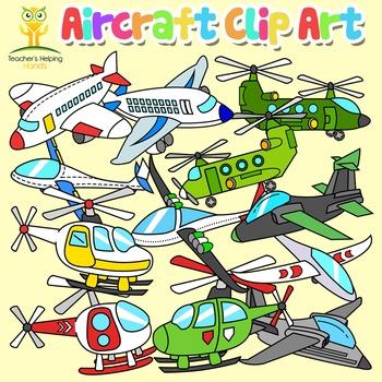 Aircraft Helicopter Jet Plane Aeroplane Flight Clip Art 40
