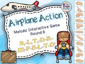 Airplane Action - Round 8 (S,-L,-T,-D-R-M-F-S-L-T-D')