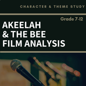 Akeelah and the Bee Story Elements Film Analysis