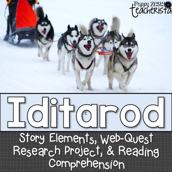 Iditarod Extension Activities & Akiak Book Companion
