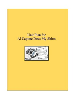 Al Capone Does My Shirts Complete Literature and Grammar Unit