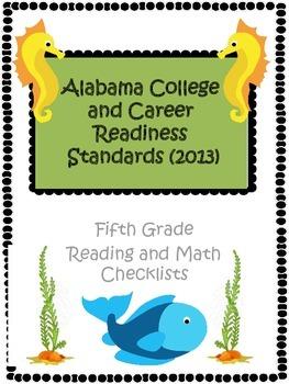Alabama CCRS Fifth Grade Checklist