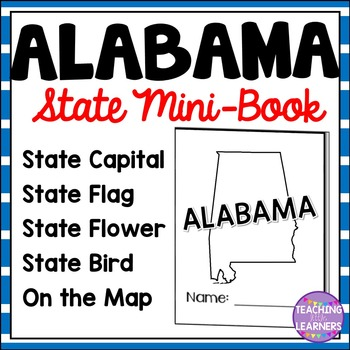 Alabama State Mini-Book