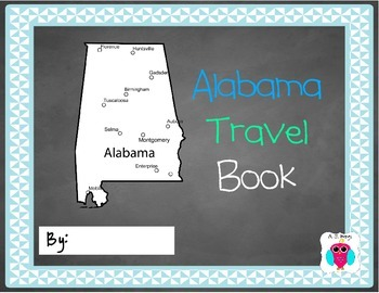 Alabama Travel Book