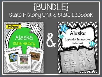 Alaska {BUNDLE} Lapbook & Interactive Notebook and Alaska