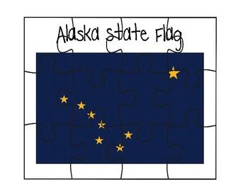 Alaska Flag Puzzle