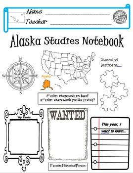 Alaska Notebook Cover