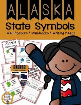 Alaska State Symbols Notebook