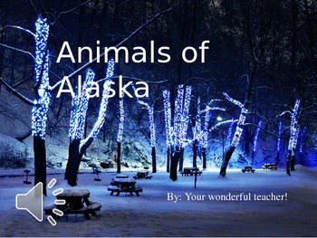 Alaska Tundra Animals
