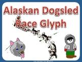 Iditarod Dogsled race Glyph
