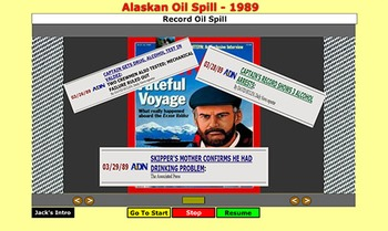 Alaskan Oil Spill - 1989 - Jack Cone and Bill Burton