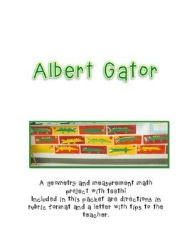 Albert Gator- A Geometry and Measurement Masterpiece