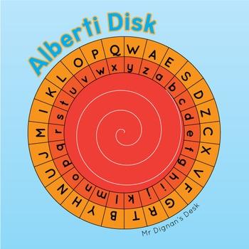 Alberti Disk Cipher Wheel