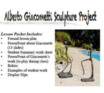 Alberto Giacometti Sculpture Project
