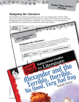 Alexander And The Terrible, Horrible: Leveled Comprehensio