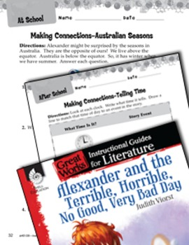 Alexander And The Terrible, Horrible: Making Cross-Curricu