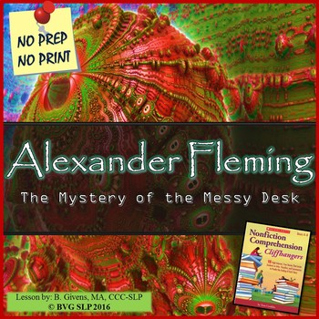 Alexander Fleming - Literacy and Language Comprehension Unit