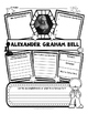 Alexander Graham Bell Organizer for Guided Research & Review