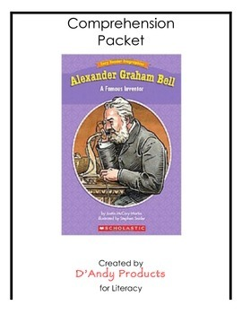 Alexander Graham Bell comprehension packet