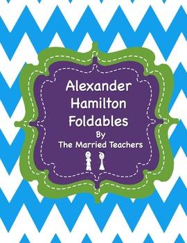 Alexander Hamilton Interactive Historical Figure Foldables