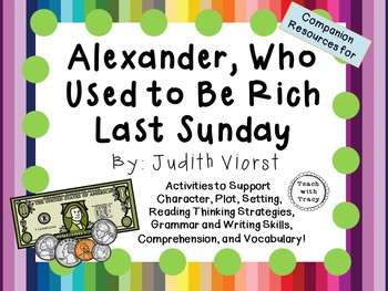 Alexander Who Used to Be Rich Last Sunday: by Judith Viors