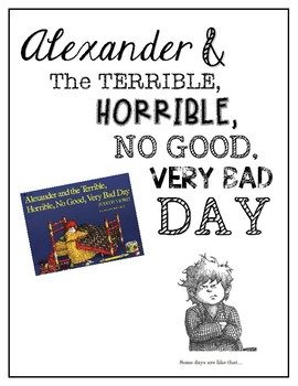 Alexander and The Terrible, Horrible, No Good, {VERY} Bad