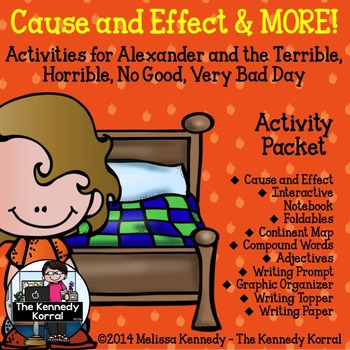 Cause and Effect {Continents, Compound Words, Adjectives a