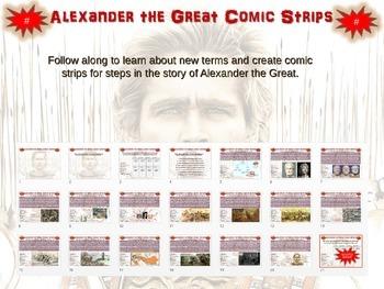 Alexander the Great Comic Strip Activity: an engaging, fun