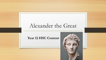 Alexander the Great HSC