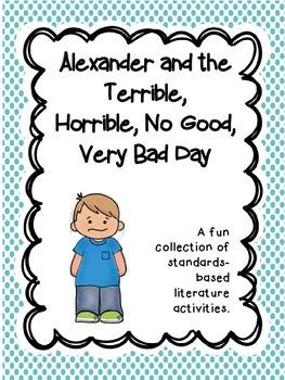 Alexander & the Horrible ~ comprehension & reading skills