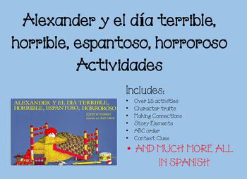 Alexander y el día Terrible, Horrible, Espantoso, Horroros