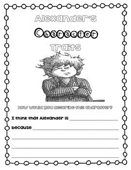 Alexander's Character Traits