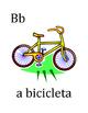 Alfabeto (Alphabet in Portuguese) mini-posters