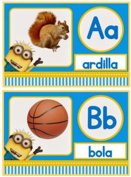 Alfabeto Minions