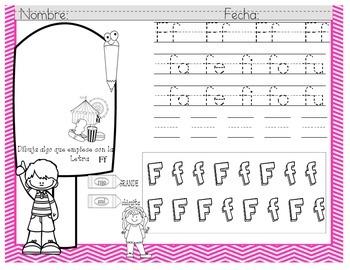 Alfabeto y Silabas en Español
