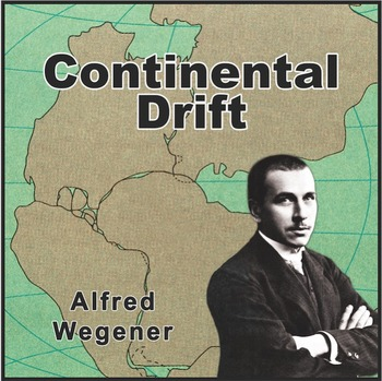 Alfred Wegener Poster (Influential Scientists Series)